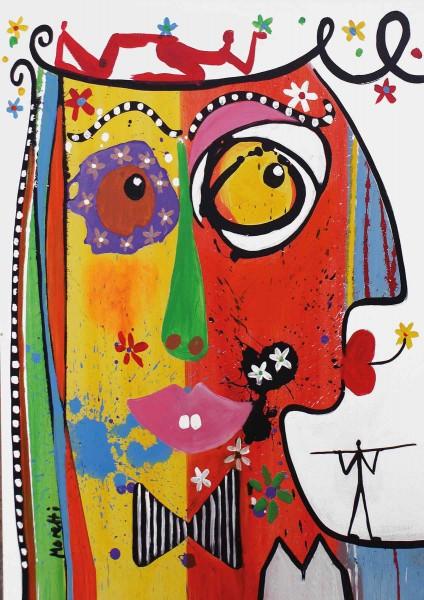 Portraitmalerei: Figurative Kunst: Type 1