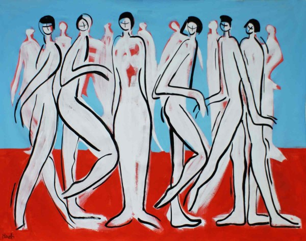 Acrylbilder: Figurative Kunst: Who is who