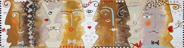 Portraimalerei: Figurative Kunst: Ansikter