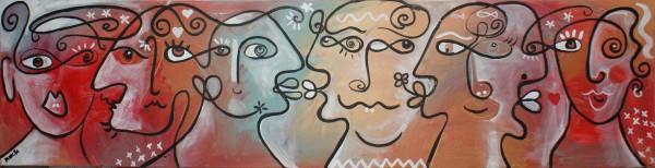 Portraitmalerei: Figurative Kunst: Menti intelligenti