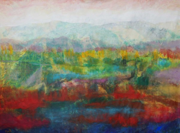 Ölgemälde Landschaften: Neues Terrain