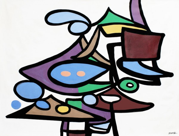 Abstrakte Gemälde: Modena