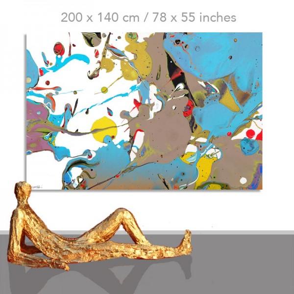 Große Bilder und XXL Gemälde: Otto Blue