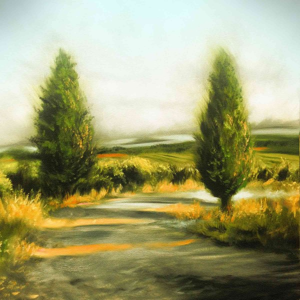 Ölgemälde Landschaften kaufen: Weg