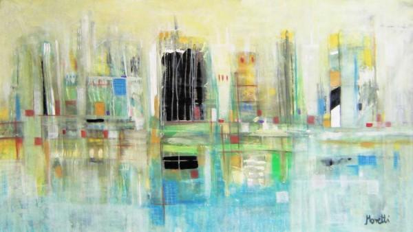 Stadt Gemälde: Berlin