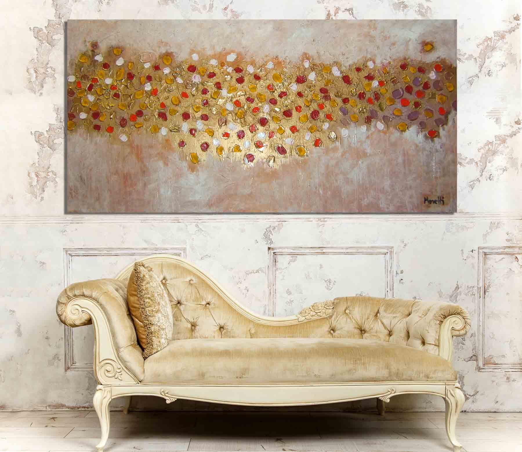 Interior Design Gemälde Shabby Chic
