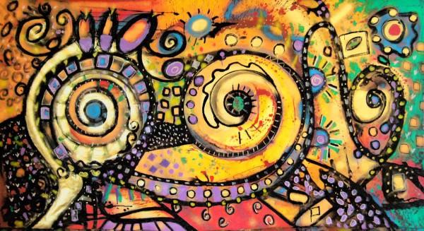 Moderne Malerei: Feel