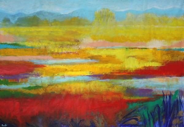Ölgemälde Landschaften: Sonniger Tag