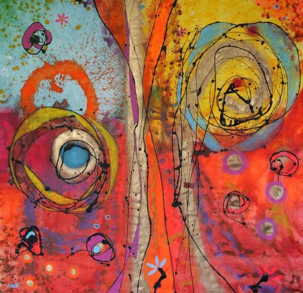 Moderne Malerei: Glückseligkeit