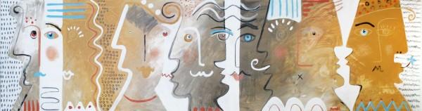 Portraitmalerei: Figurative Kunst: Charaktere