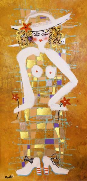 Gemälde Frauen: Lady 4