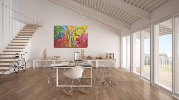 Moderne Gemälde: Wandbilder abstrakt: Sheha
