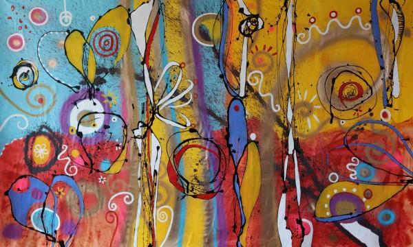 Moderne Malerei: Kurkuma