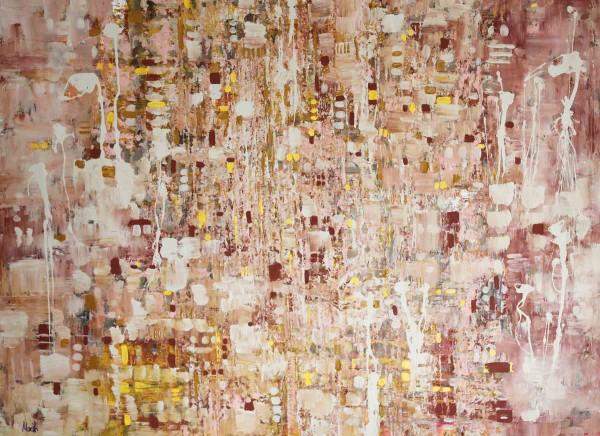 Abstrakte Gemälde kaufen: Feines Braun