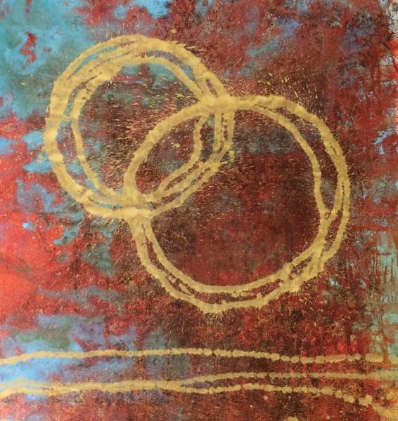 Abstrakte Gemälde: Liebe