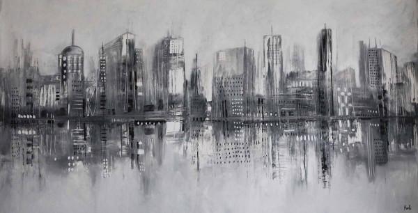 Skyline Bilder: Stadt Lichter