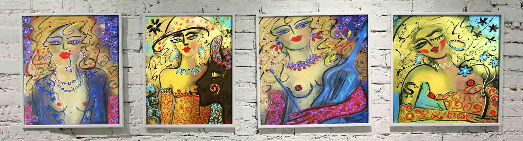 Frauen Gemälde kaufen