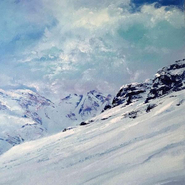 Ölgemälde Landschaften kaufen: Mont Blanc
