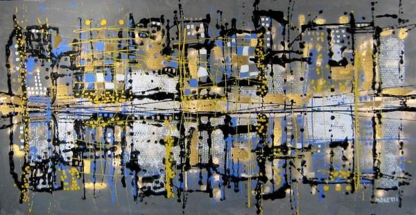 Skyline Bilder: Ölbilder: Urban