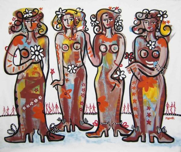 Gemälde Frauen: Femmes