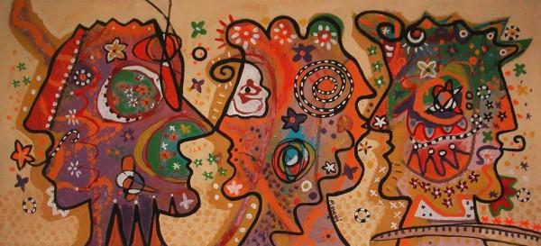 Kunstwerke: Face to face