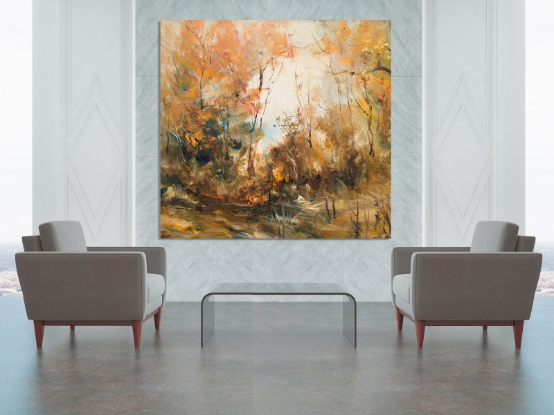 Grosse Landschaft Malerei