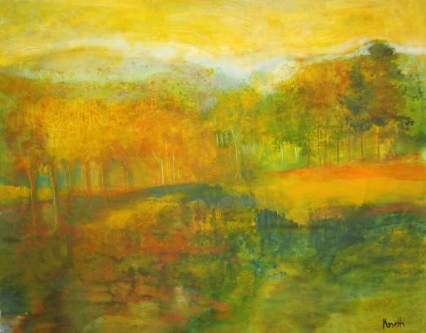 Öl Gemälde Landschaften: Sunny day