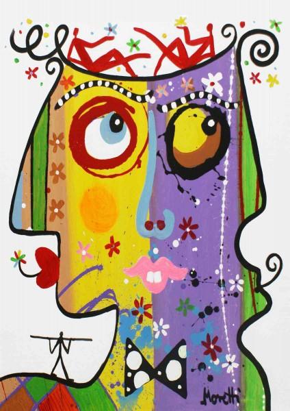 Portraitmalerei: Figurative Kunst: Type 2
