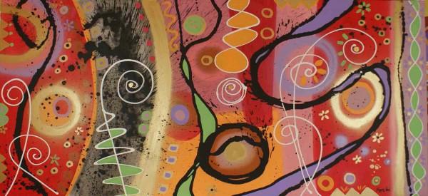 Moderne Malerei: Agathe
