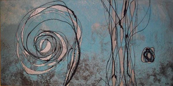 Kunstwerke: Aquamarin