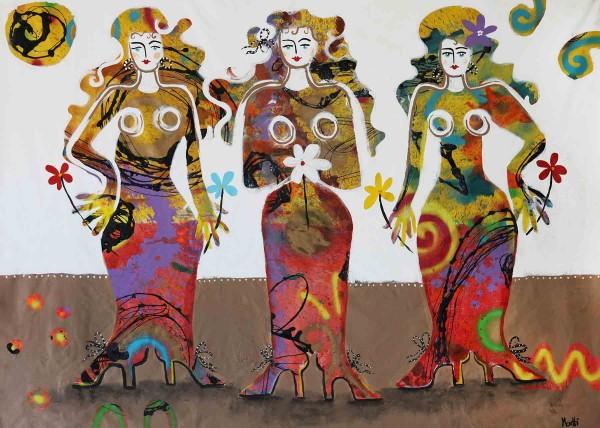 Gemälde Frauen: Trois dames
