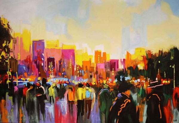 Stadt Gemälde kaufen: New York