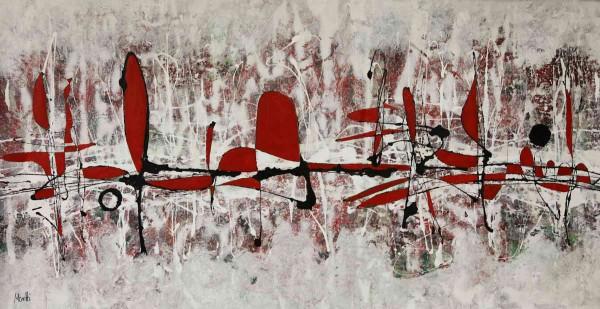 Kunstwerke: Rot Schwarz