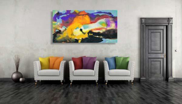 Gemälde kaufen nach Farben 1