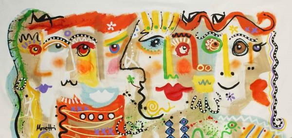Figurative Kunst: Portraitmalerei: Helle Köpfe