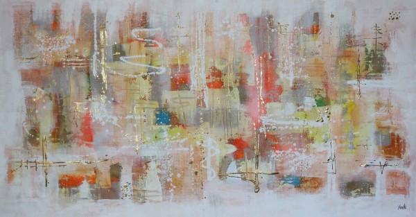 Abstrakte Gemälde: Storia bianca