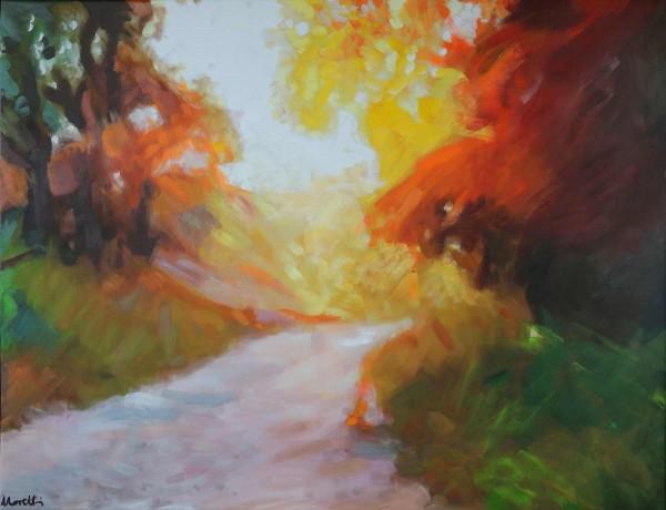 Ölgemälde Landschaften: Lichtblick
