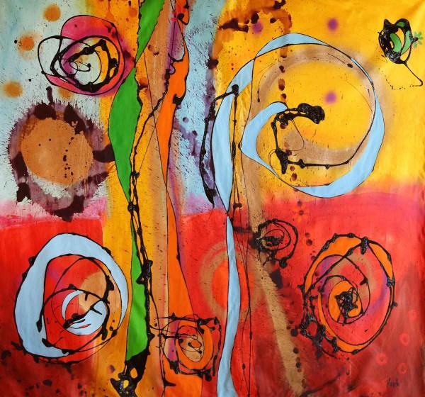 Moderne Malerei: Happyness