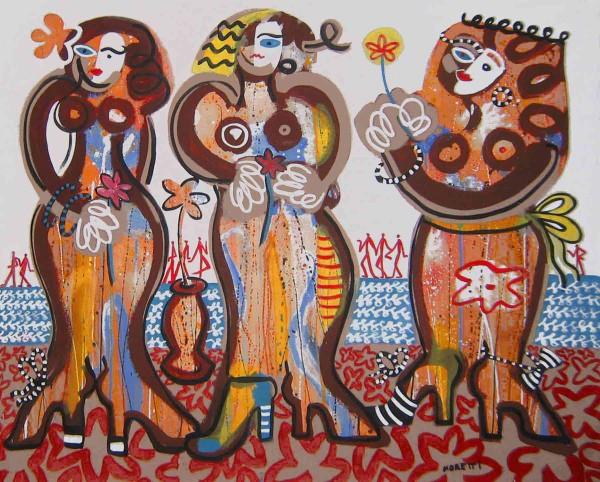 Gemälde Frauen kaufen: Grand dames