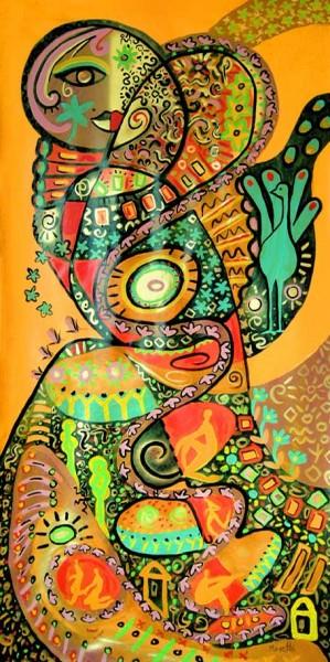 Moderne Malerei: Sheharazade