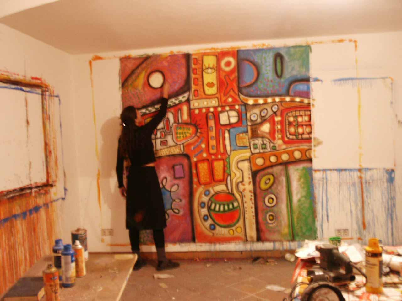 Künstler Malerei 2021