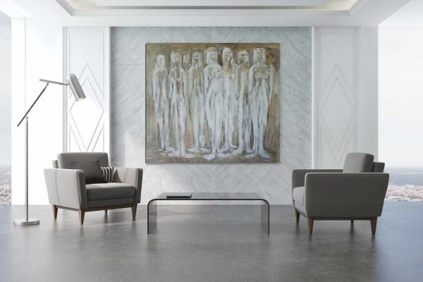 Ölbild Frauen: Frau in der Kunst: Moderne Malerei
