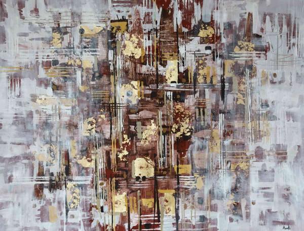 Abstrakte Gemälde: Memory