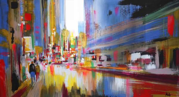 Skyline Bilder: Ölbilder: Stadtmitte