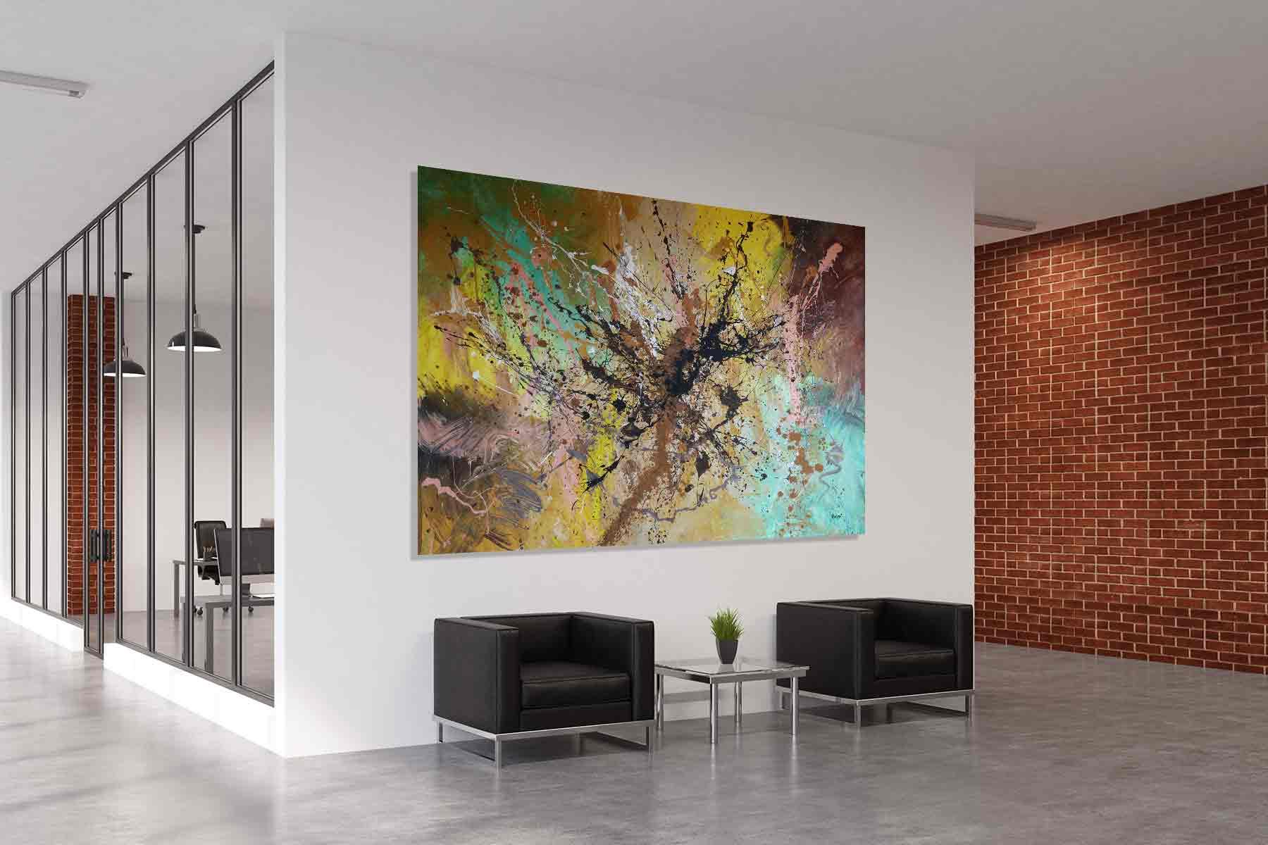 Interior Design Gemälde Urbaner Stil