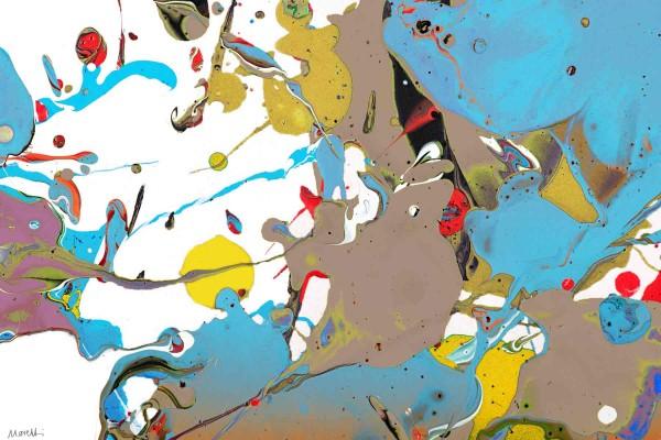 Leinwandbilder kaufen: Kunstbilder: Otto Blue