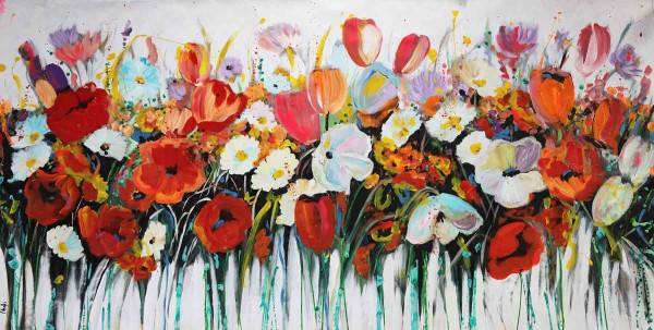Blumen Gemälde kaufen: Tulpen