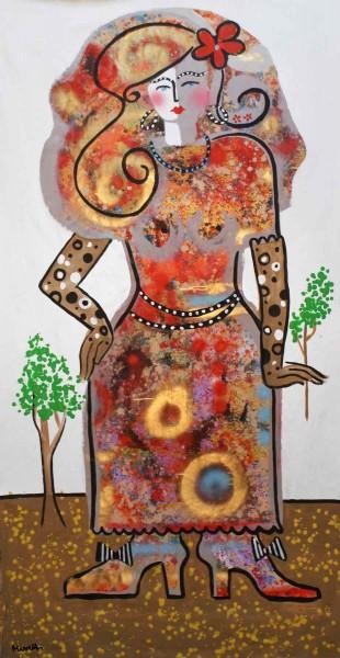 Gemälde kaufen Frau: Mustergültig