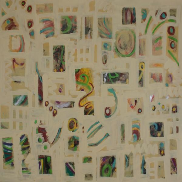 Abstrakte Gemälde: Independence