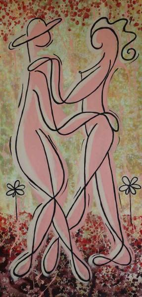 Acrylbilder kaufen: Danse de amour